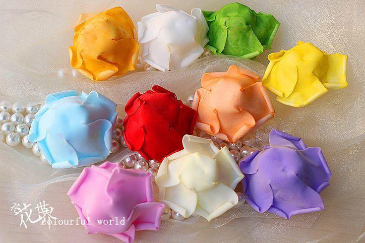 Горячая распродажа искусственный пена розы для дома и свадебные украшения цветок головы поцелуи мячи для свадьбы многоцветный 7 см диаметр, принадлежащий категории Декоративные цветы и венки и относящийся к Для дома и сада на сайте AliExpress.com | Alibaba Group