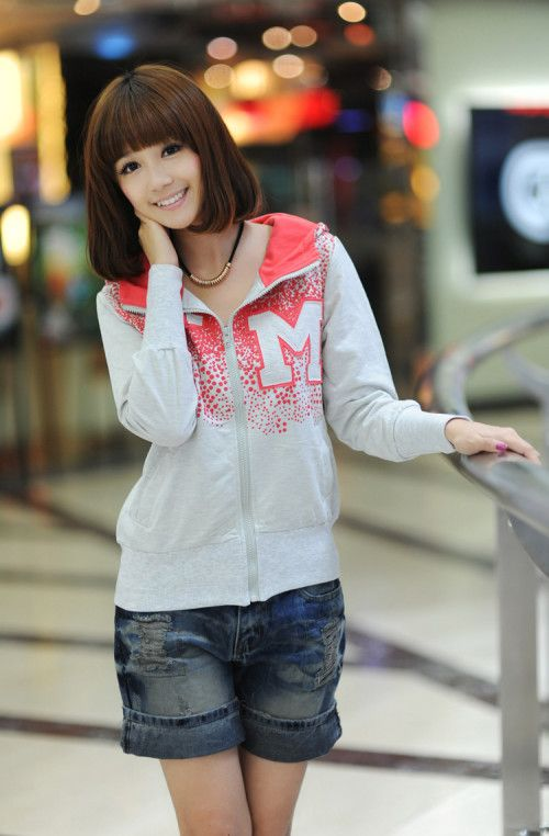 Buy New Letters Hooded Casual Long-sleeved Cardigan Coat , from  for US$8.20 only in Wholesale4s.