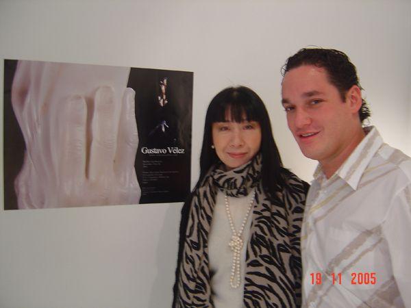 Nel 2005 espone per la prima volta in Giappone, presso la Galería Promo-Arte di Tokyo