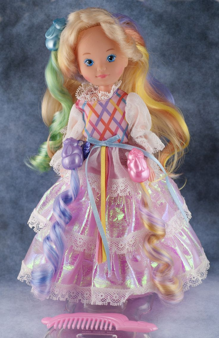Vintage Lady Lovely Locks Princess Doll, 3 Bunny Pixie Tails, Comb, Shoes - Nice | eBay... Want this!
