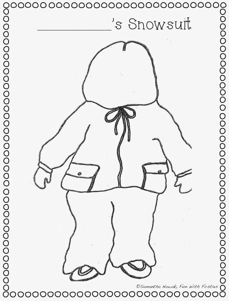 FREE extension worksheet & writing activity to Robert Munsch's book, Thomas' Snowsuit