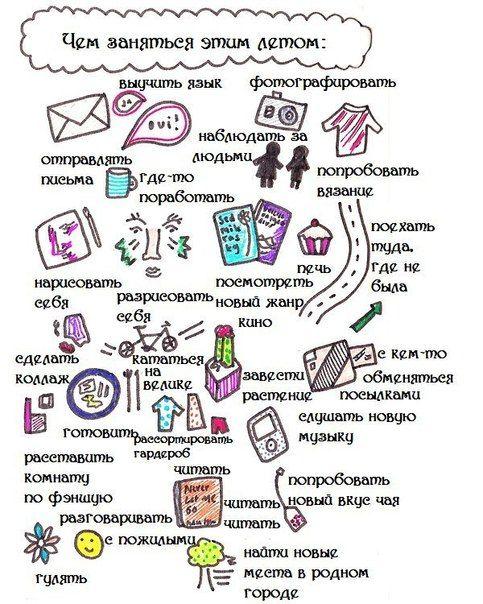 Идеи для личного дневника - ЛД
