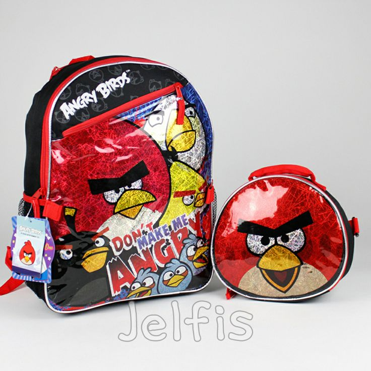 Jelfis.com - Rovio Angry Birds Backpack Attach Lunch Bag - Metallic 16' Large Boys Girls Box, $17.99 (http://www.jelfis.com/rovio-angry-birds-backpack-attach-lunch-bag-metallic-16-large-boys-girls-box/)