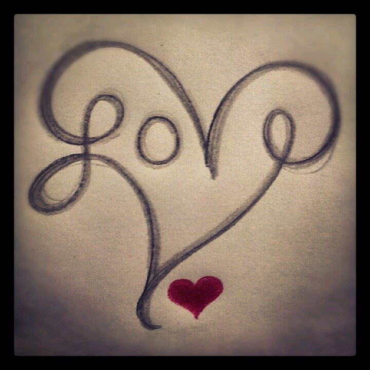 Tattoo I drew. I think I want it very small and on on my wrist.