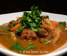 Thermomix beef stew, a great winter dinner #recipe