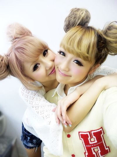 gyaru makeup | Tumblr