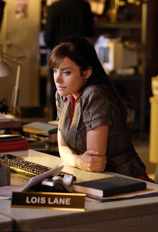 "Lois Lane - Smallville. She's sad because Clark is gone to see his ""cousins"""