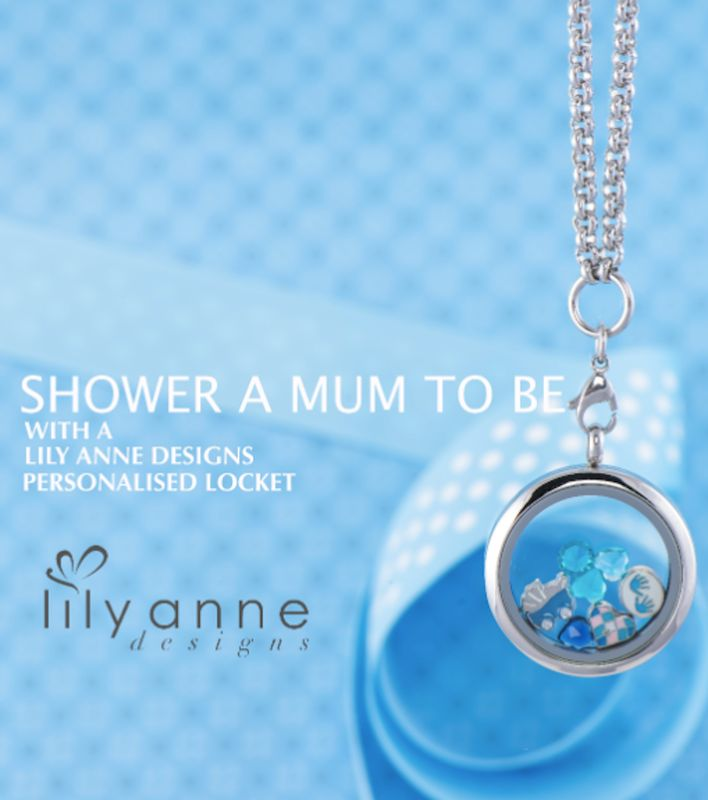 A personalised locket makes the perfect gift for a new mum