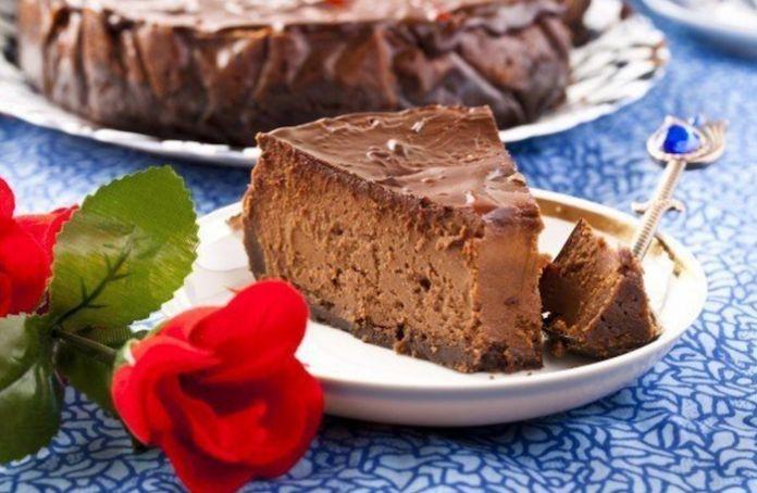 Диетический шоколадный чизкейк, для сладкоежек сидящих на диете!