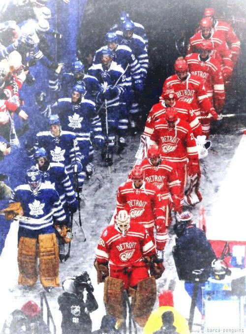Team intro Winter Classic 2014