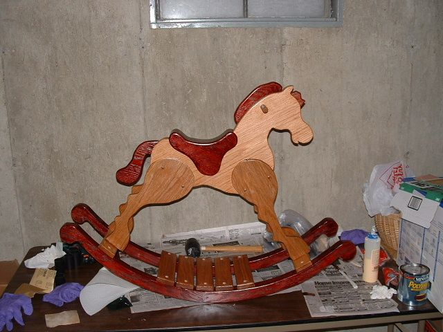 free images to make wood horses | got the plans free with my table saw from Grizzly, but they ...