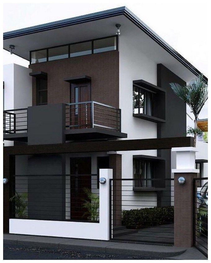 44 Best Of Minimalist Houses Design Simple Unique And Modern Facade House Duplex House Design Architecture House