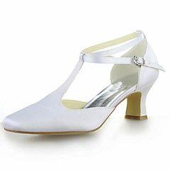 Scarpe da sposa - Sandali - Punta squadrata / Cinturino - Matrimonio -Nero / Blu / Giallo / Rosa / Viola / Rosso / Avorio / Bianco /