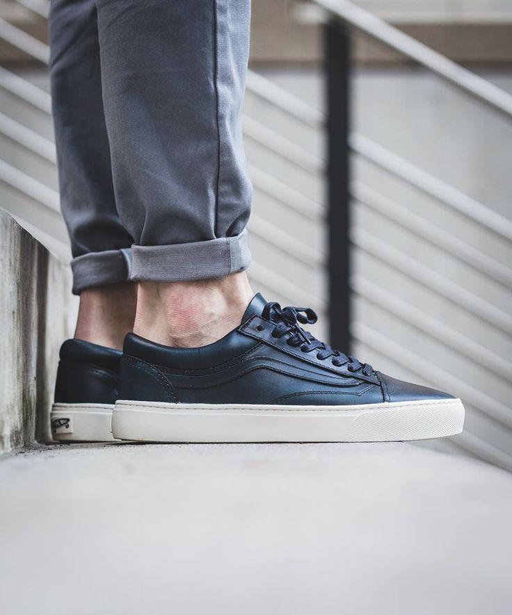 """Vans Vault Old Skool Cup LX """"Navy"""" (Horween) - EU Kicks Sneaker Magazine"""