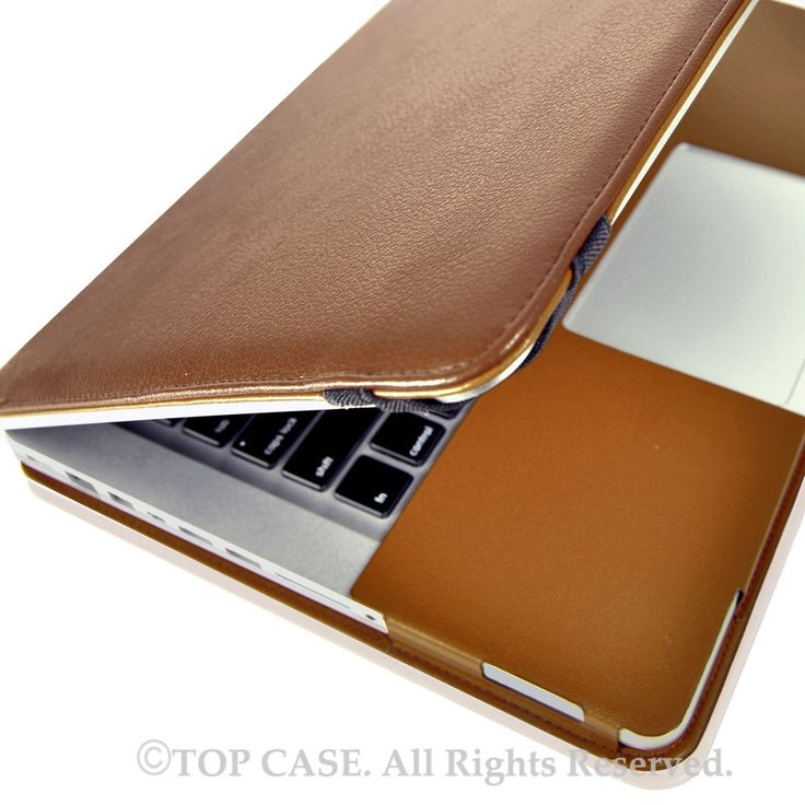 """- Highest Quality Synthetic Leather, feel like leather. - Prefect fit for Macbook PRO 13"""" Aluminum Unibody (A1278/Latest) - Magnetic closure,easy to open, Lightweight for your convenience - Superior d"""