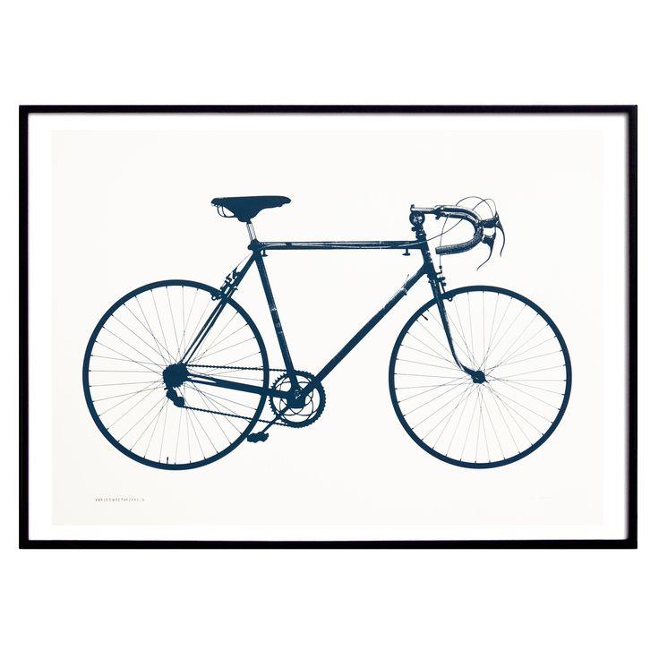 Världsmästarcykeln poster, deep blue i gruppen Posters / Posters hos RUM21.se (1023698)