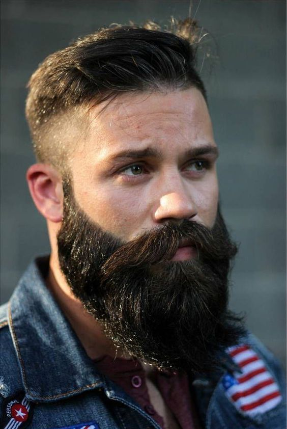 Hairstyles For Men With Beards Gorgeous 12956 Best Bearded Awesomeness Images On Pinterest  Beards