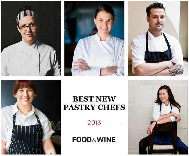 Food & Wine's 2013 Best New Pastry Chefs: Melanie Durant, Stephanie Prida, Bob Truitt, Sarah Jordan & Monica Glass. http://www.foodandwine.com/articles/best-new-pastry-chefs-2013 #foodandwine
