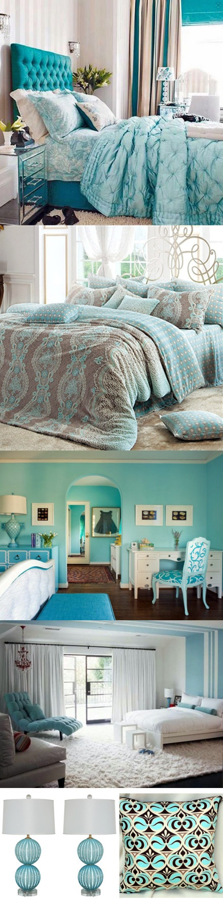 House decortion of a Tiffany Theme~