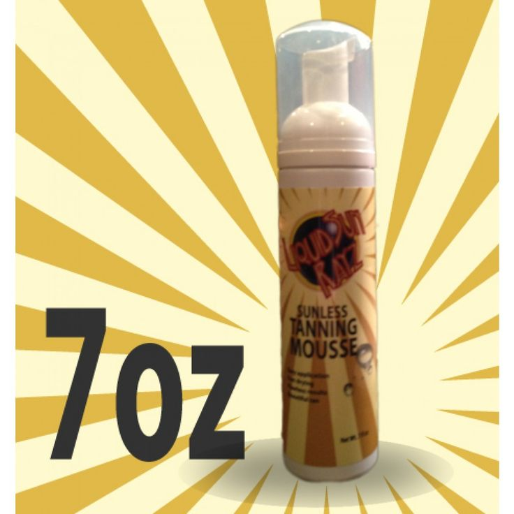 Liquid Sun Rayz Everyday Tanning Mousse  http://www.liquidsunrayz.co.uk/sunless-tanning-mousse.aspx