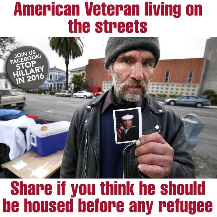 This is a sad disgrace so many are homeless! Our Vets should be helped before Illegals! AMEN