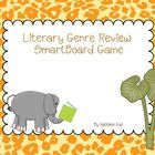 This is a SmartBoard game to review literary genres.  The theme of the game is a jungle/safari theme.  There are a total of 18 questions.  Each que...
