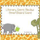 Literary genre reveiew SmartBoard game