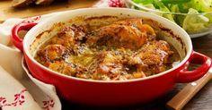 Recette de Casserole légère de lapin rôti miel et moutarde . Facile et rapide à…