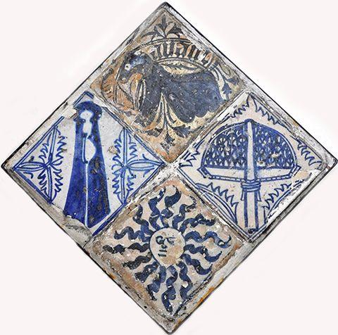 Tile, 15th century, Valencia Inventario: FC.1994.02.625
