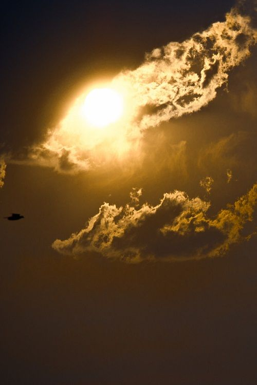 Like Heaven Opening Up Sky Clouds Photography I