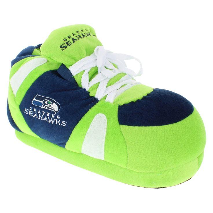 Comfy Feet NFL Seattle Seahawks Slipper XL, Adult Unisex, Multicolored