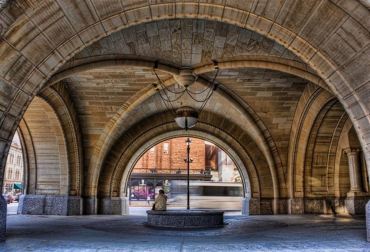 Jim Denham Photographer Safehaven The Entrance To City Hall In Milwaukee Wi Architecture