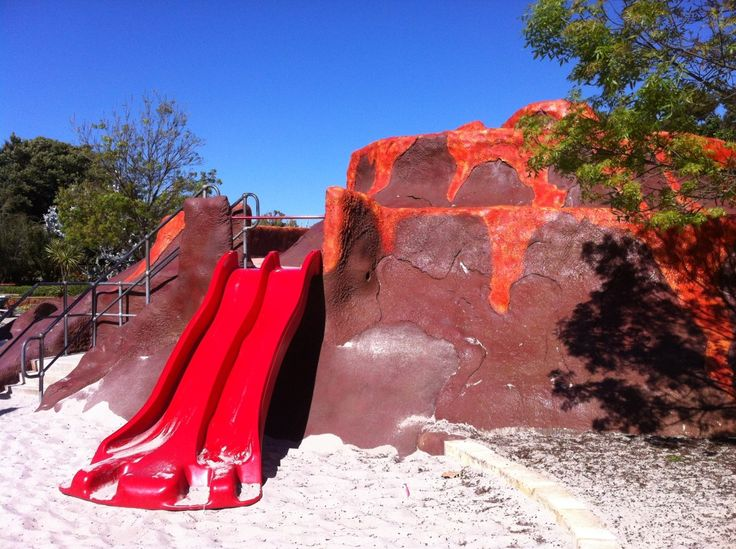 """Faulkner Park """"Volcano Park"""", Cloverdale"""