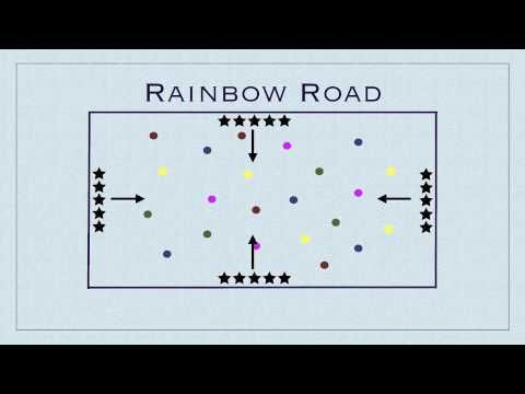Physical Education Games - Rainbow Road