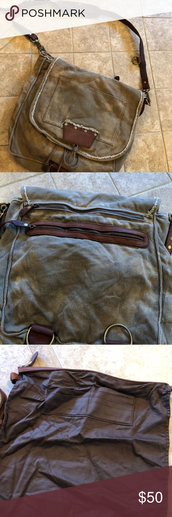 Juicy Couture Messenger Bag Men or Women This bag is in EUC...the strap is very long, better fit for a tall person. There is a skull on the inside flap and some removable pockets. Juicy Couture Bags Messenger Bags
