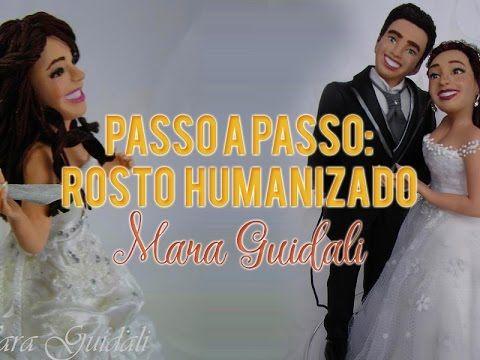 Mara Guidali - Atelie Biscuit e Festa -  maraguidali@hotmail.com: Passo a Passo: Rosto Humanizado