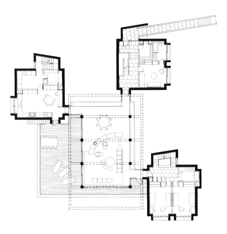 139 best single family houses plans images on pinterest for Single family house plans
