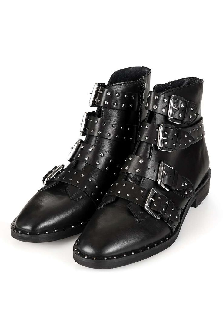 25  best ideas about Studded Ankle Boots on Pinterest | Chloe ...