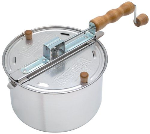 News Wabash Valley Farms Whirley-Pop Stovetop Popcorn Popper   buy now     $23.99 The Original Whirley-Pop stovetop hand-crank popcorn popper brings it all back with its one-of-a-kind design.  You can enjoy l... http://showbizlikes.com/wabash-valley-farms-whirley-pop-stovetop-popcorn-popper/