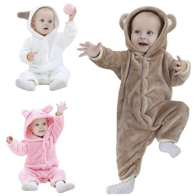 1c6693019ece Брендовая Дизайнерская обувь мягкие фланелевые детские пижамы Kawaii для  мальчиков и девочек пижамы Теплый с капюшоном