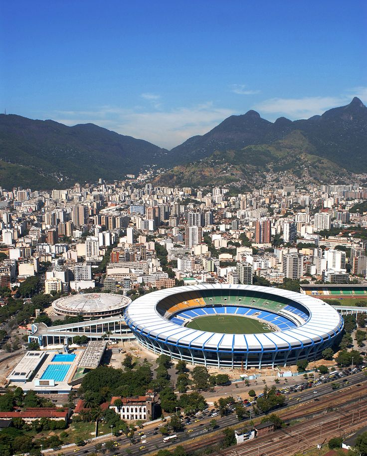 Rio2016 - Maracanã - Where Olympic opening ceremony will be take place
