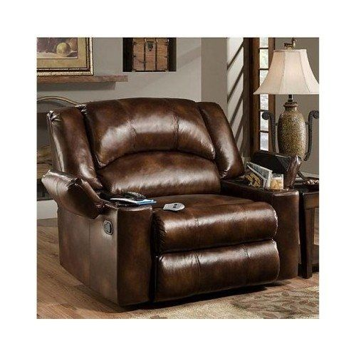 Best Amazon Com Simmons Brown Leather Over Sized Massage 400 x 300