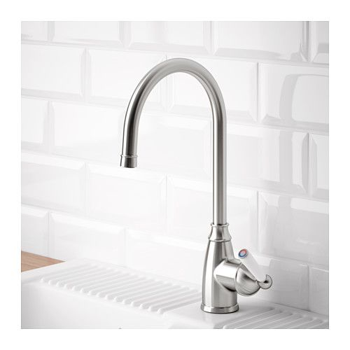 """ELVERDAM Kitchen Faucet - - IKEA."" IKEA US/EN. N.p., n.d. Web. 23 Feb. 2017. ELVERDAM Kitchen faucet - - - stainless steel color $149.00 IKEA"