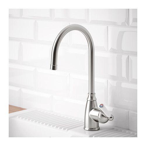ELVERDAM Kitchen faucet - - - stainless steel color $149.00    IKEA