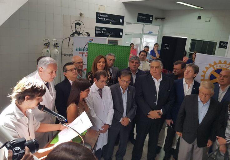 #Inauguraron la Unidad Especial de Atención de ACV en el Hospital Escuela - Chaco Dia Por Dia: Chaco Dia Por Dia Inauguraron la Unidad…
