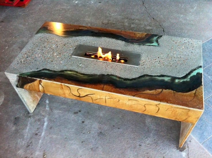 Concrete Fire Burner Superior Concrete & Design 4…