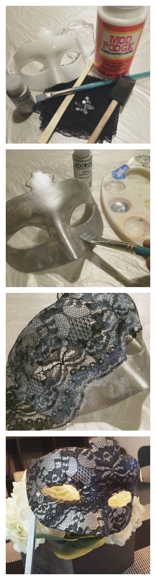Getting ready for the ball?  Or maybe just a party?  Make your own Masquerade mask!  #DIY