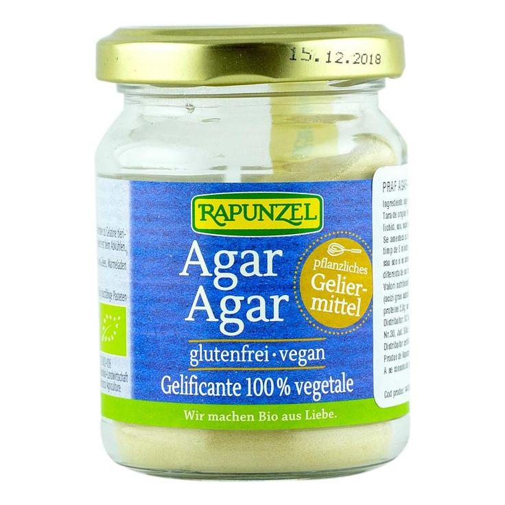 Agar-agarul este un produs organic obtinut dintr-o serie de alge marine rosii. Putere mare de gelificare ► Potrivit in bucataria vegana ► Vezi retete si intrebuintari