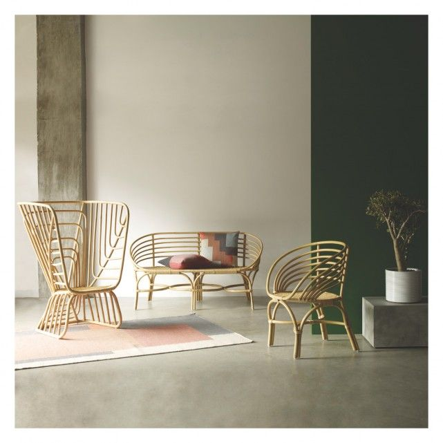 AVIA Rattan garden bench | Buy now at Habitat UK