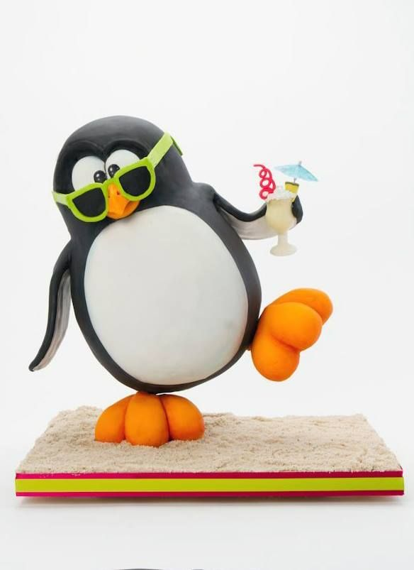 Penguin cake | Carved ...
